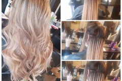Hair extensions by Jenny