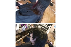 Hair extensions (dark) by Jenny