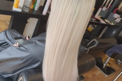 U-Tip-Hair-Extensions-by-Jenny-22/24 inch.After, sleek and full. Creating the perfect blend of blondes.