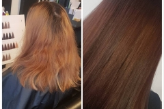 Beautiful chocolate hair by Jenny